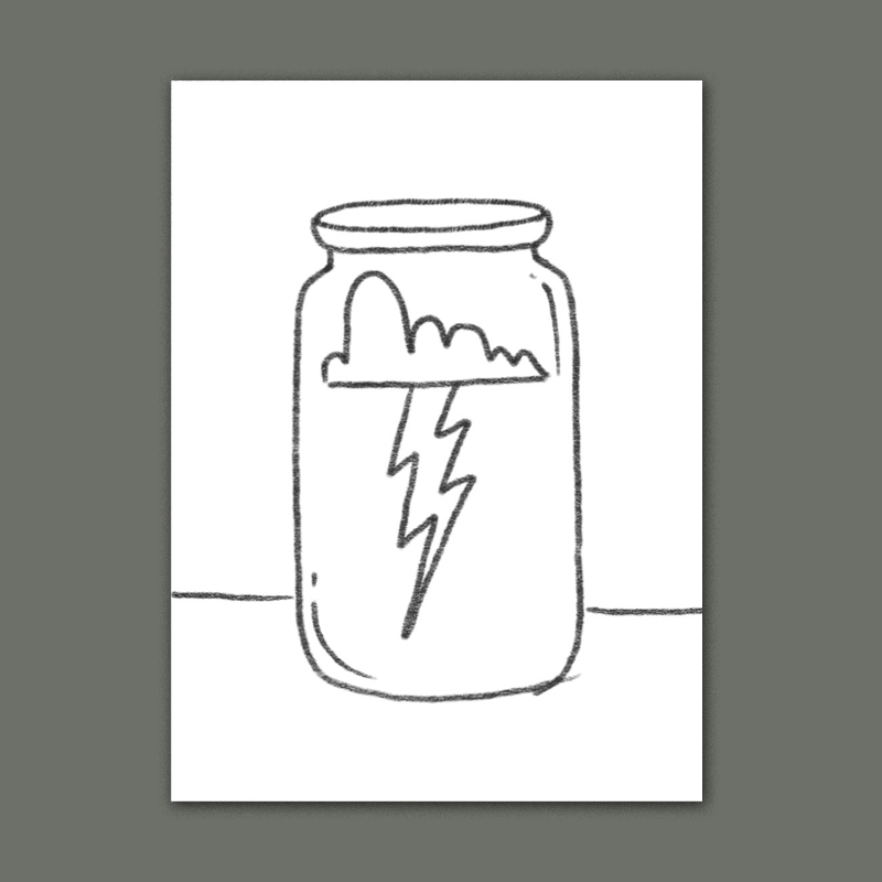 'catching lightning in a bottle' is an old expression that means to capture something fleeting or hard to reproduce.