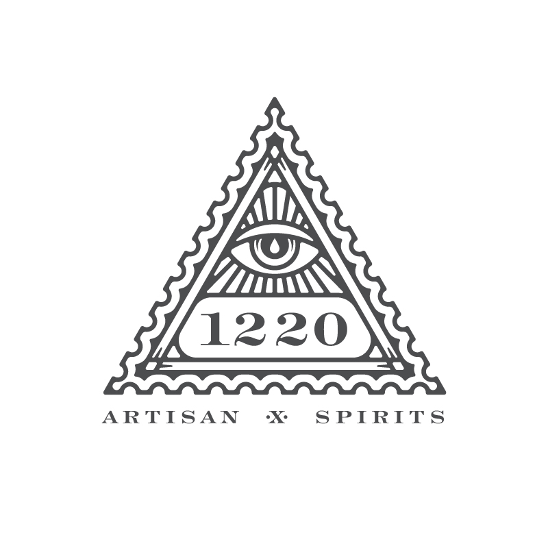 """1c. Throwing """"artisan spirits"""" in there. You may also notice the drop in the eye symbolizing the distillation process (one drip at a time)"""