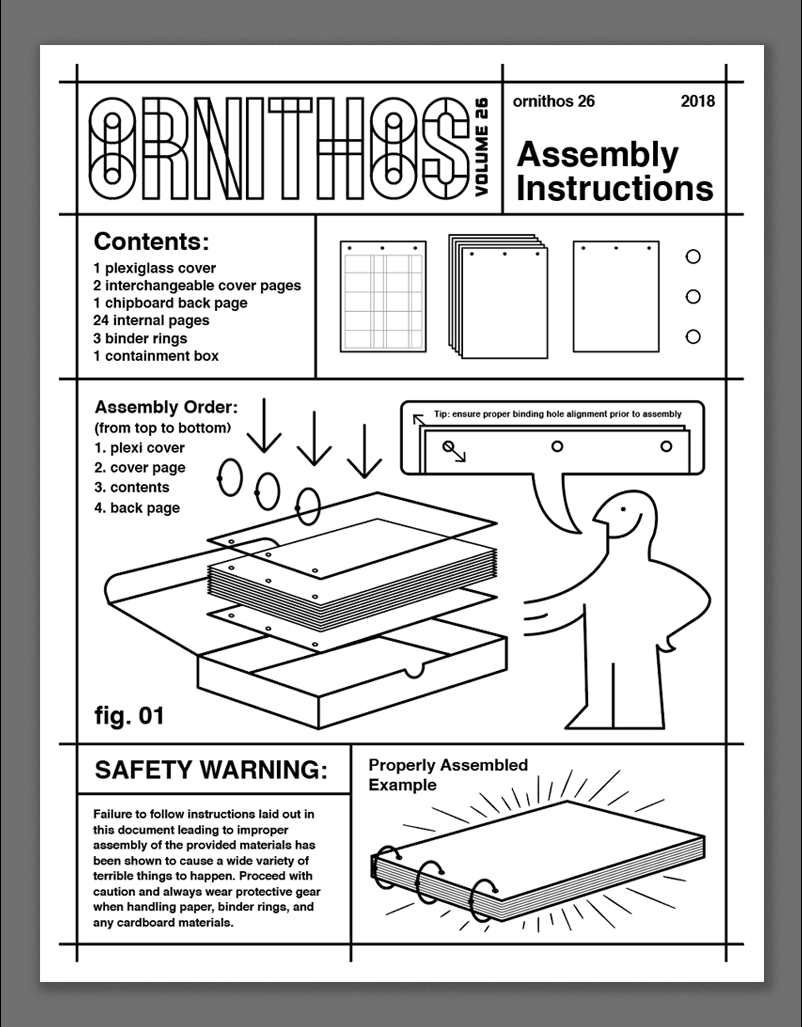 assembly instructions - content can be adjusted/edited!