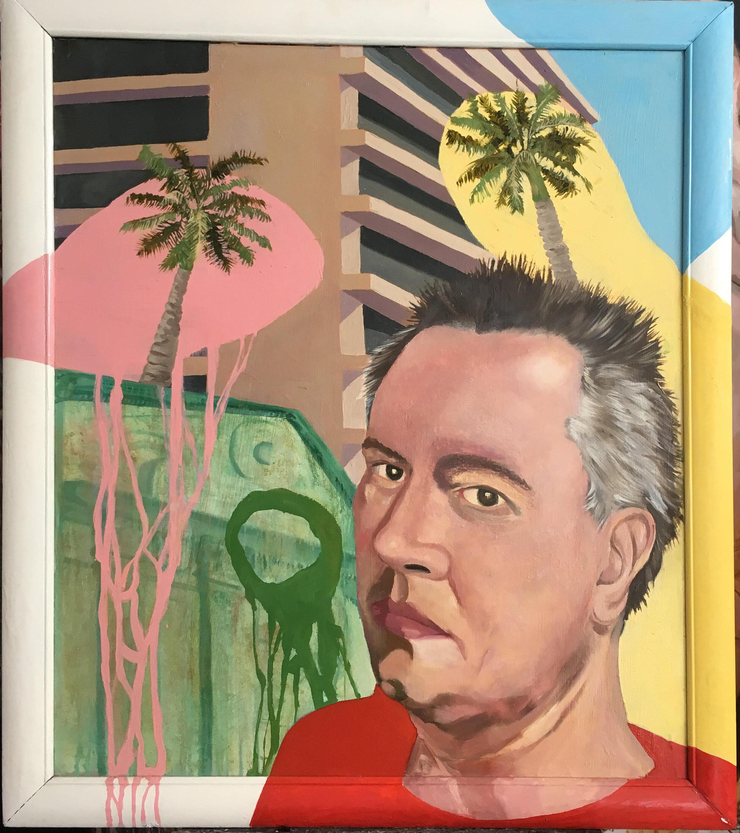 4. Joaquín Rodríguez del Paso Autorretrato, 2006, óleo, esmalte sobre tela, 100 cm x 85 cm.jpg