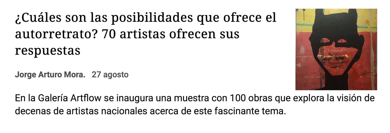 Artflow Galería en La Nación