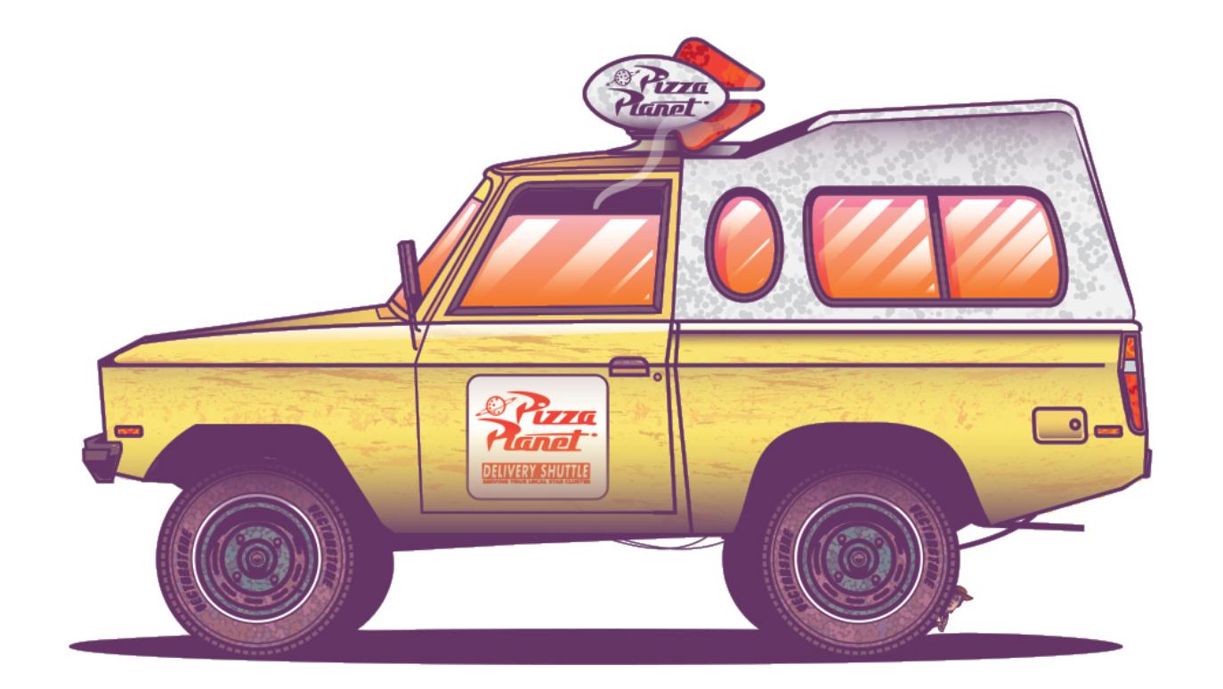 Vector City Car