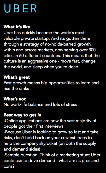 What it's like to work at Uber