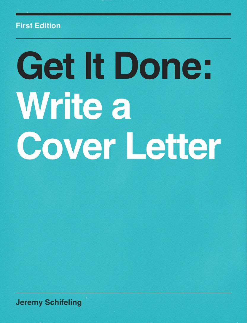 Write a Cover Letter