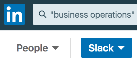 LinkedIn Referral Search