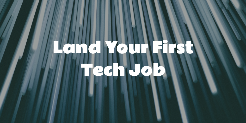 Get everything you need to win. - My complete tech job search course takes you from first application to final interview.