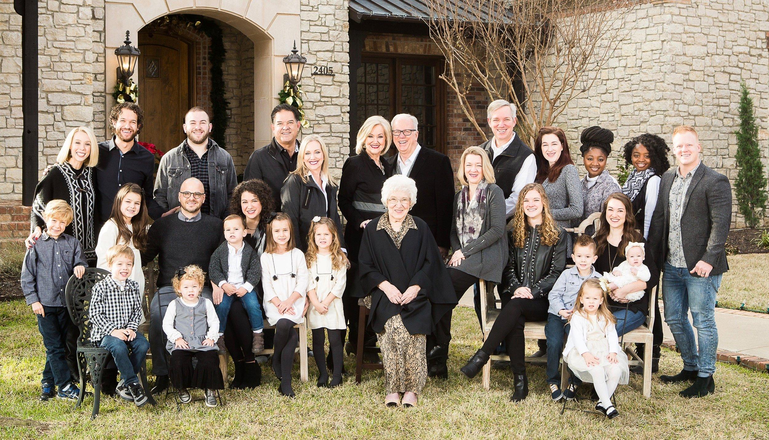 Família Devi & Larry Titus
