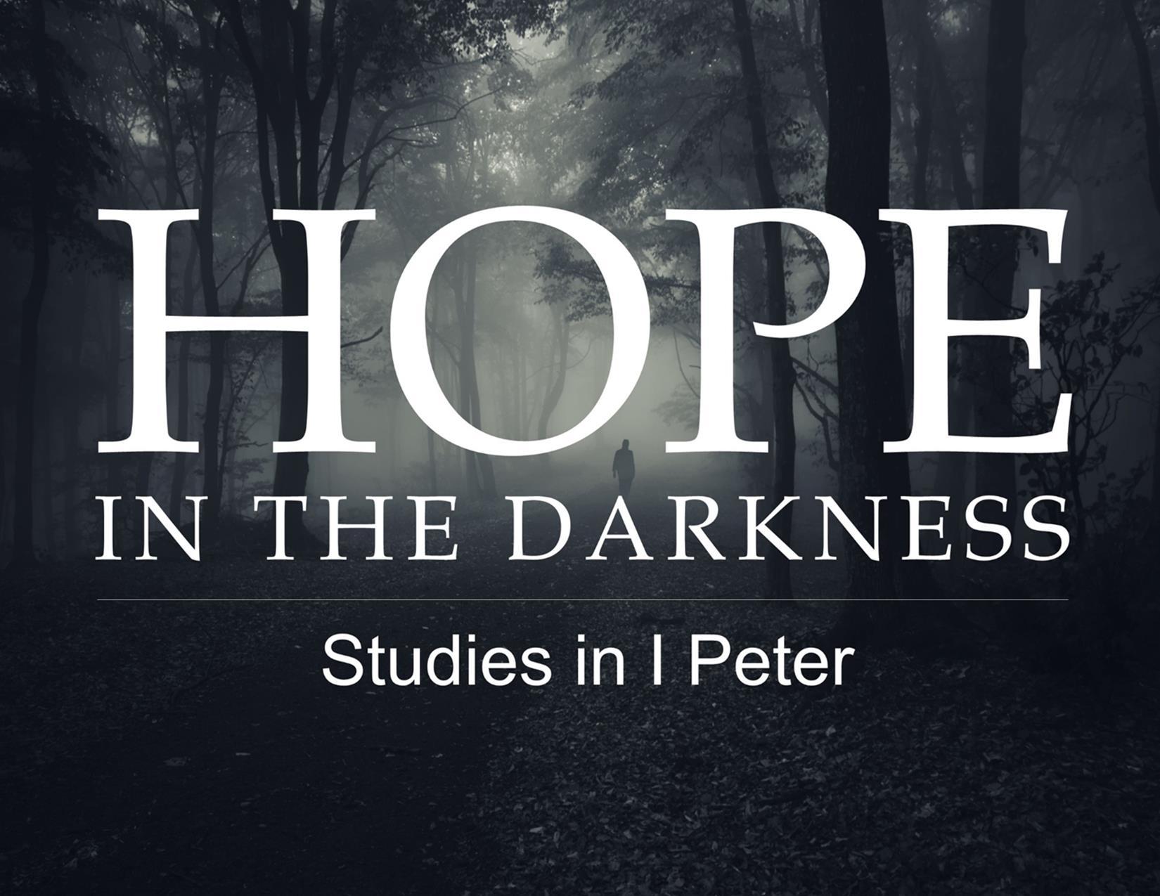 March 6, 2016 ~ Still More Hope for the Stranger (1 Peter 1:10-12) ~ Pastor Jason Pilchard