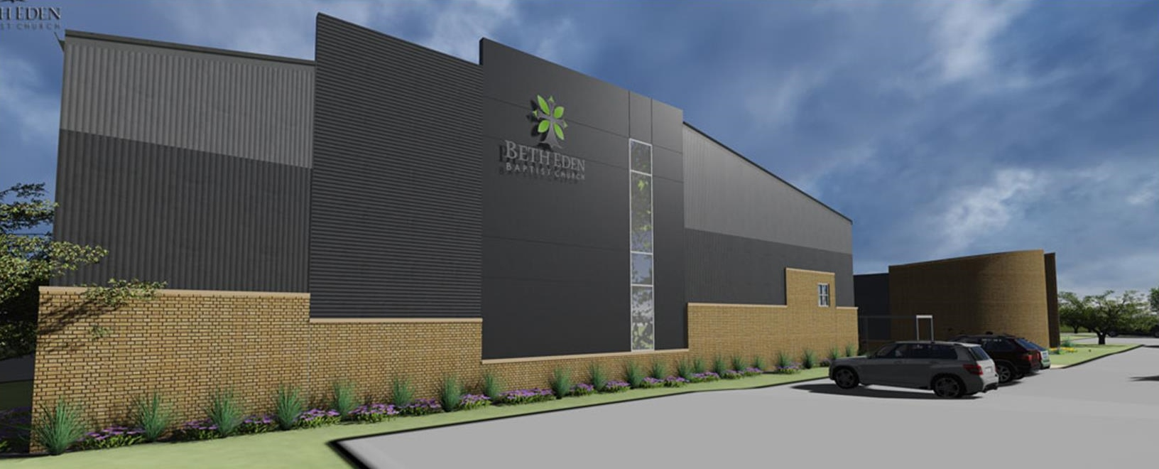 Rendering of new gymnasium