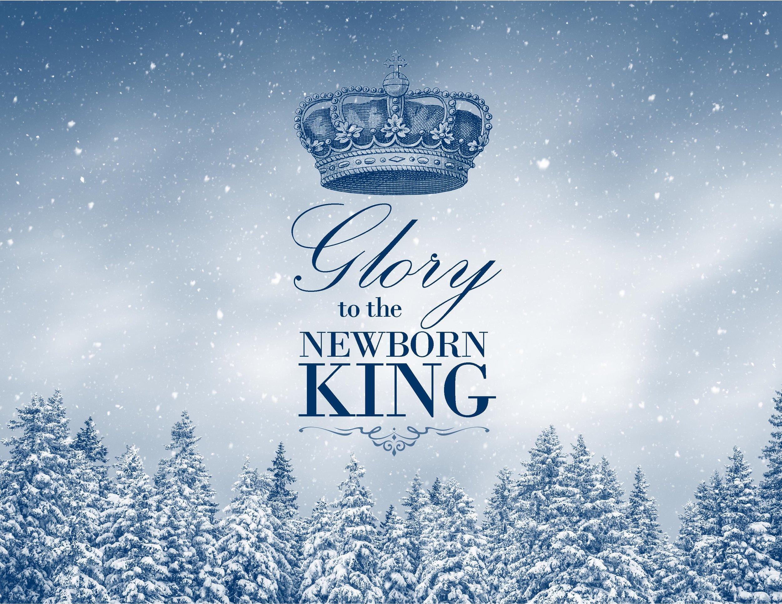 December 18, 2016 ~ Glory to the Newborn King (Matthew 1:18-25) ~ Pastor Jason Pilchard