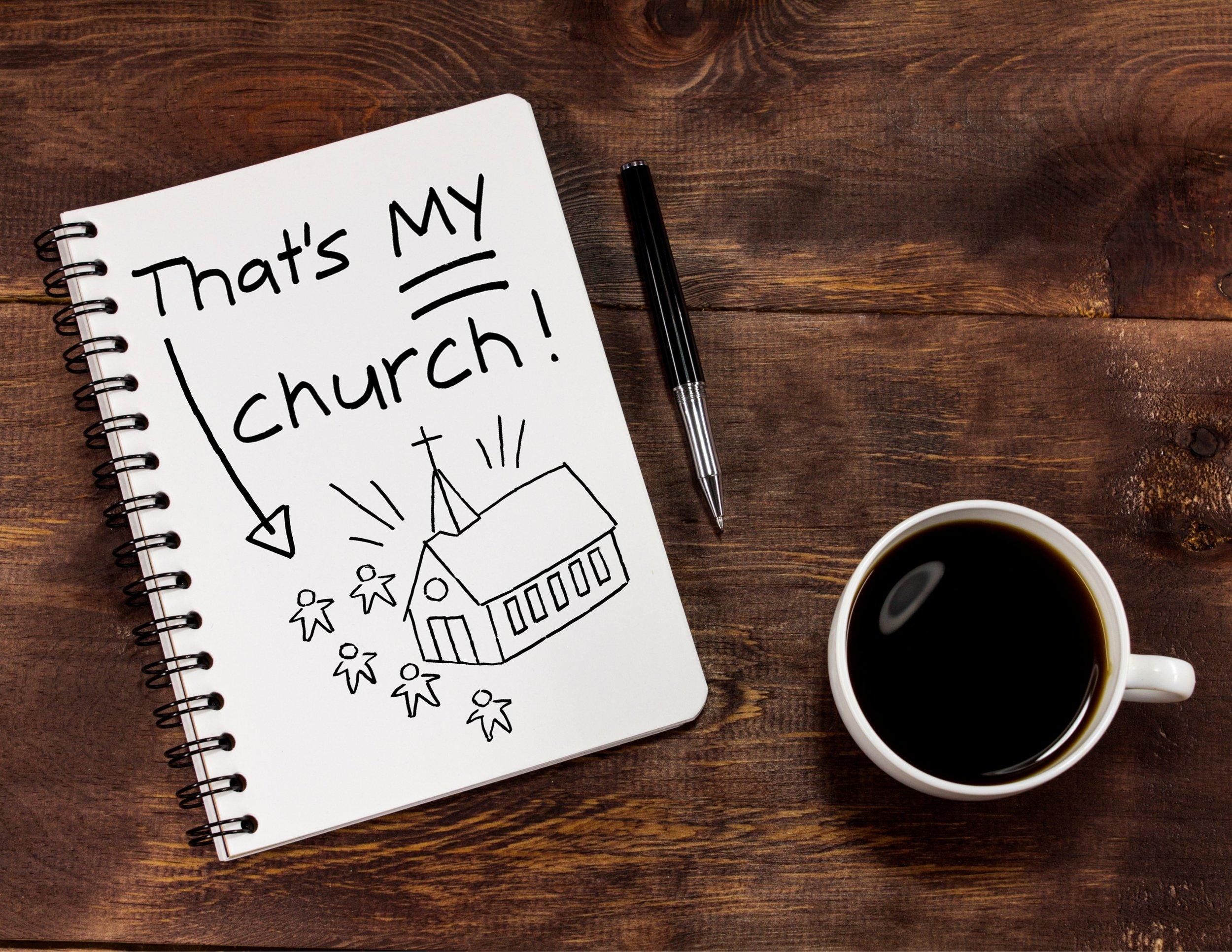 That's My Church Series - Pastor Jason Pilchard
