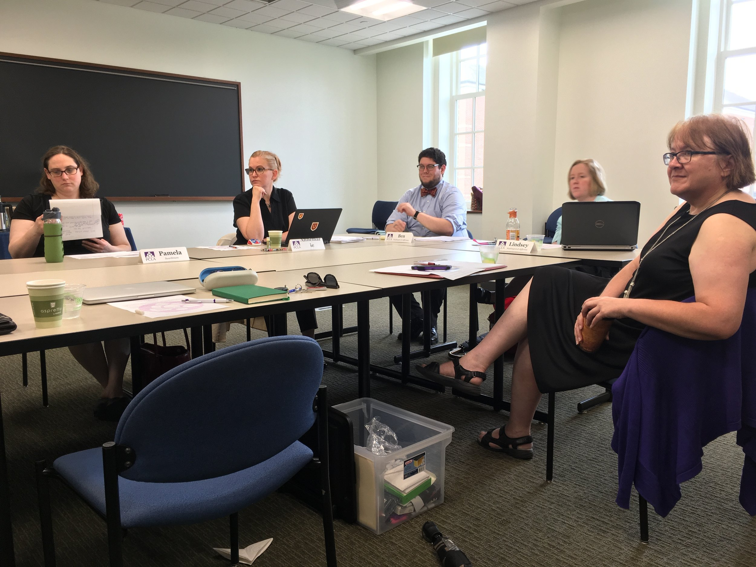 PCLA Institutional Research/Assessment meeting
