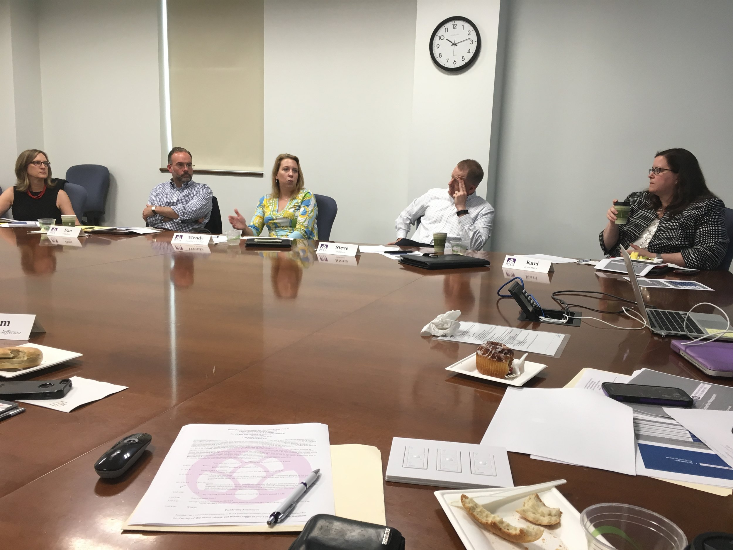 PCLA Chief Financial Officers meeting