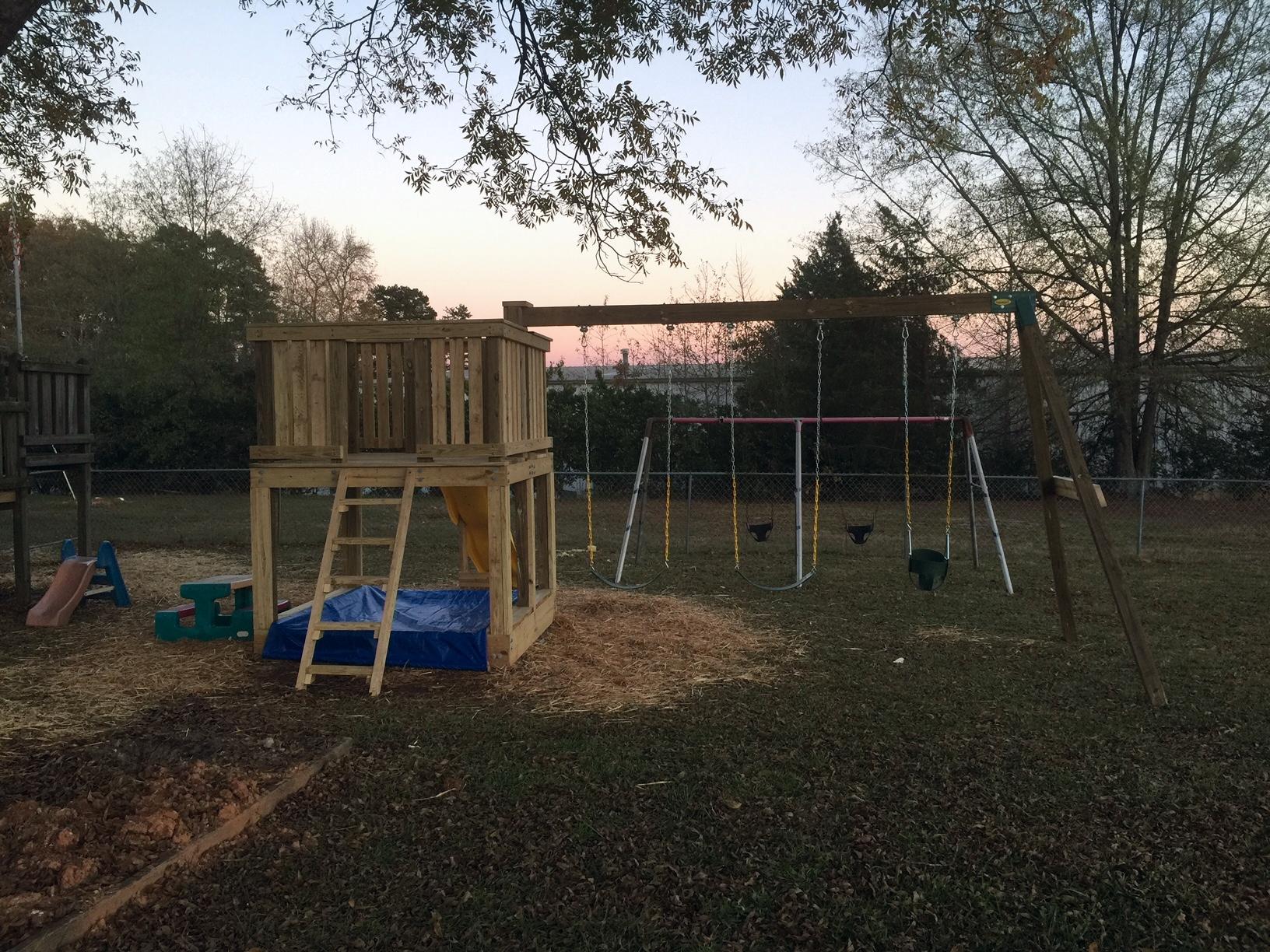 The new playground.
