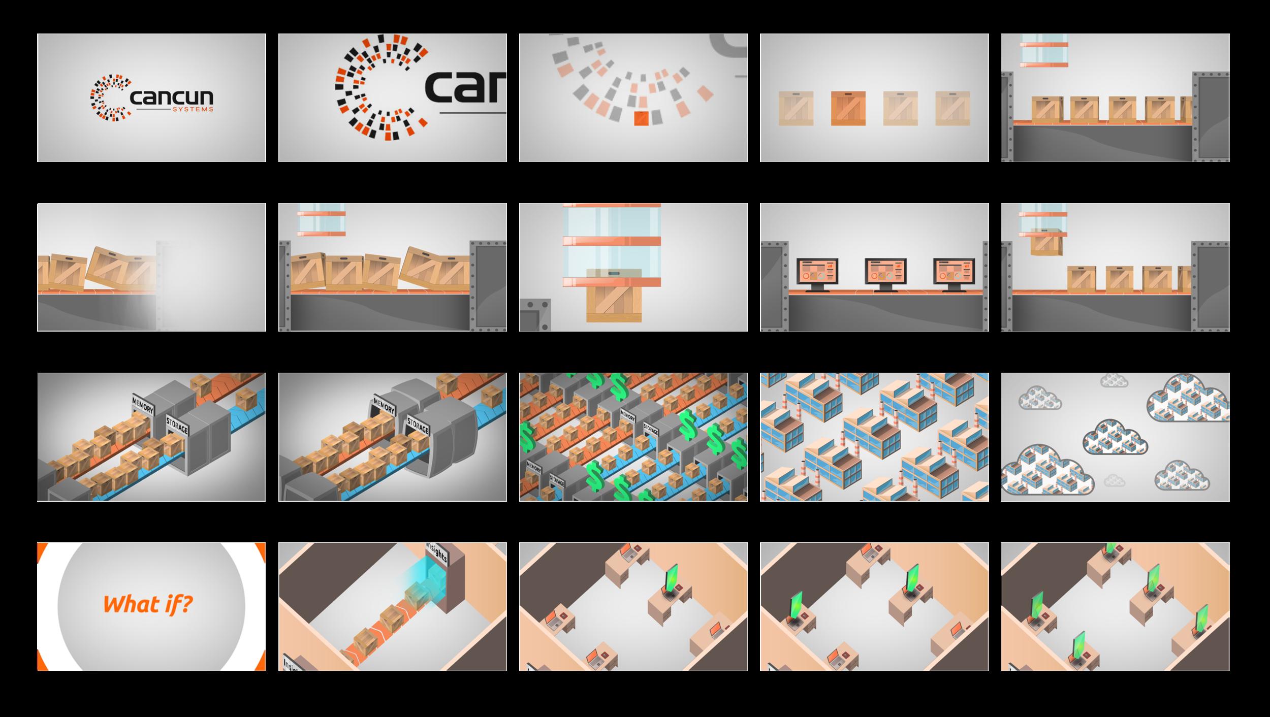 Cancun MemoryLake Animation