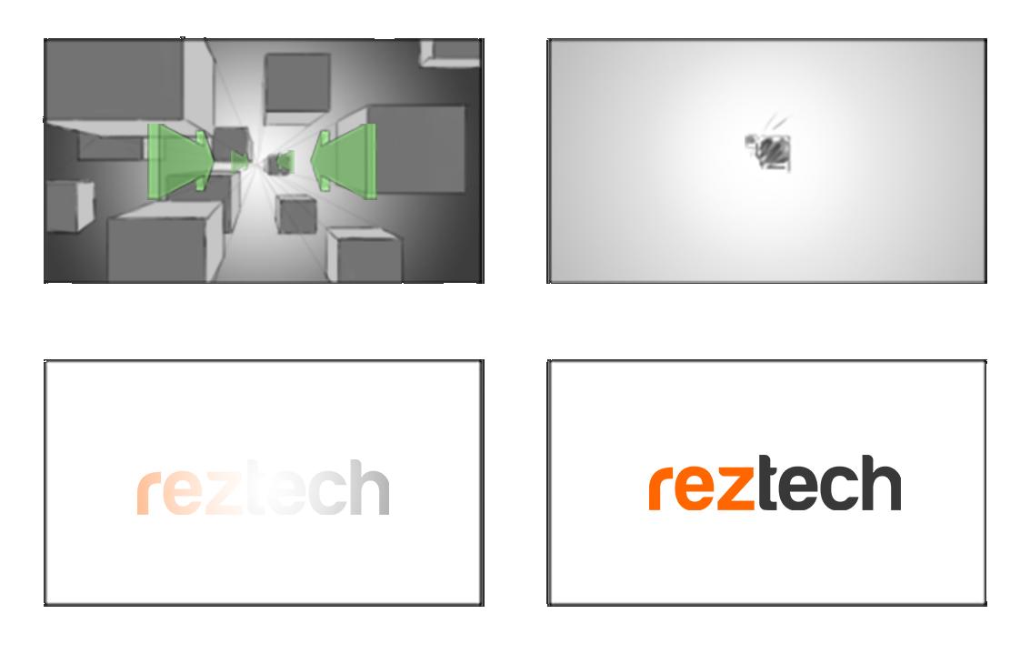 Reztech Logo Animation