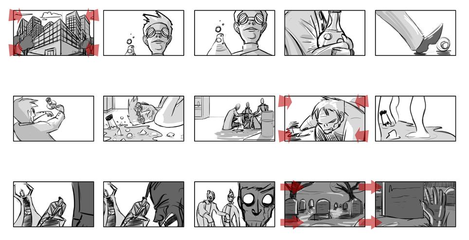 Zombie Cartoon - Pg1