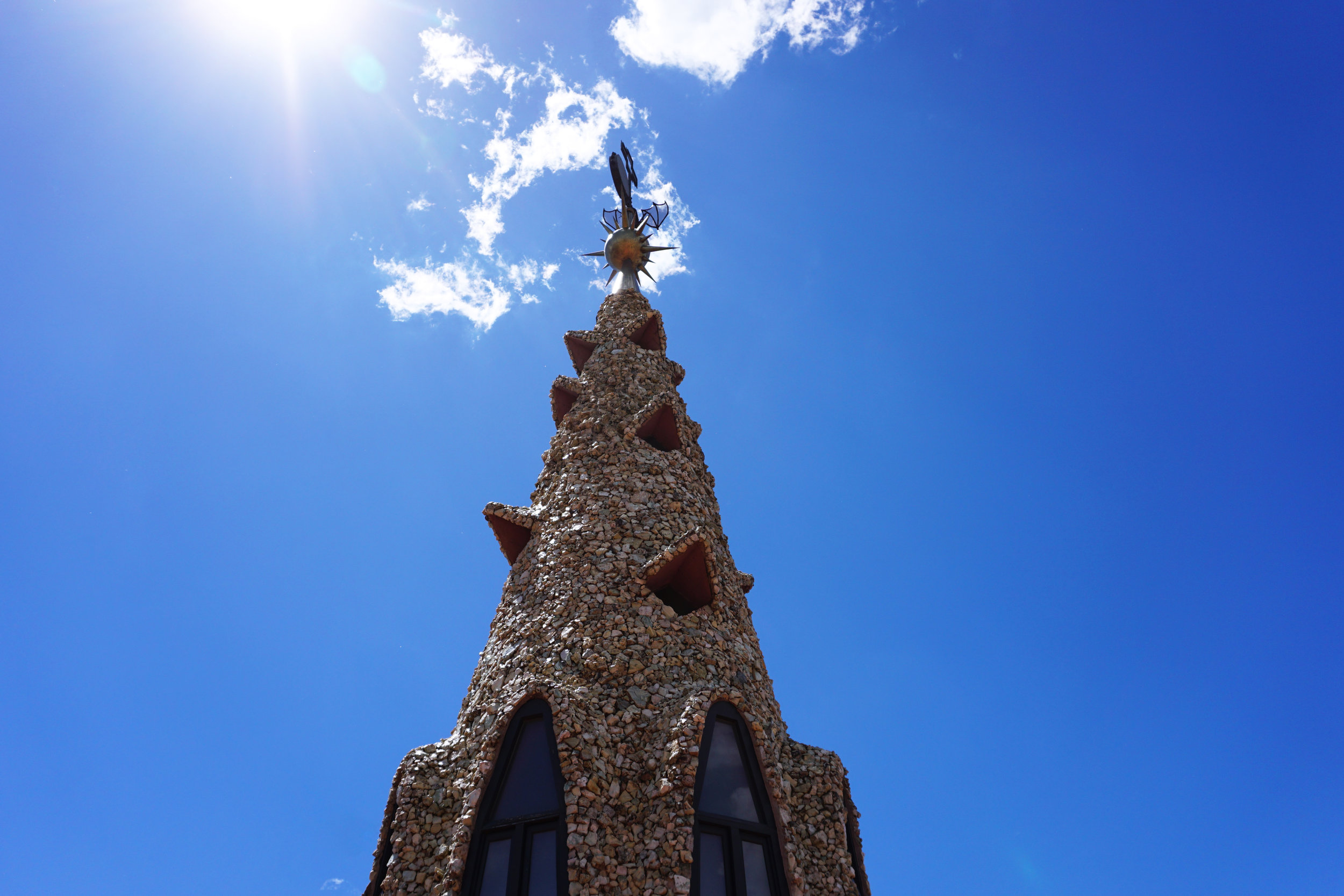 Gaudi designed  Palau Güell  for Eusebi Güell and is now a UNESCO World Heritage Site. If you appreciate Gaudi's work, then Palau Güell shouldn't be missed - it's less frequented by tourists and provides a cooler refuge since everything is indoors.