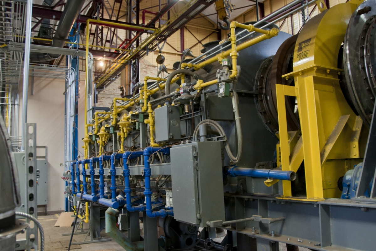 This 28,000 pound-per-day torrefaction reactor is being installed and commissioned at NRRI's Coleraine Minerals Research Laboratory in Coleraine, Minnesota.