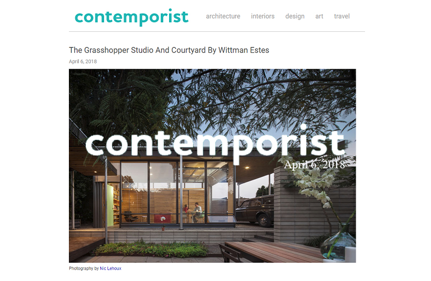 Contemporist - Grasshopper