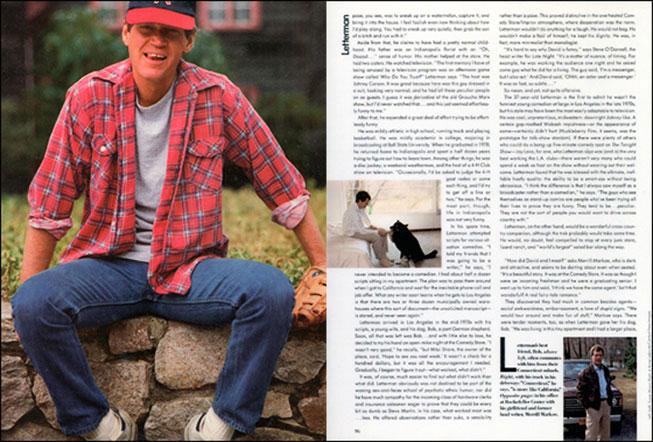 David Letterman 1984