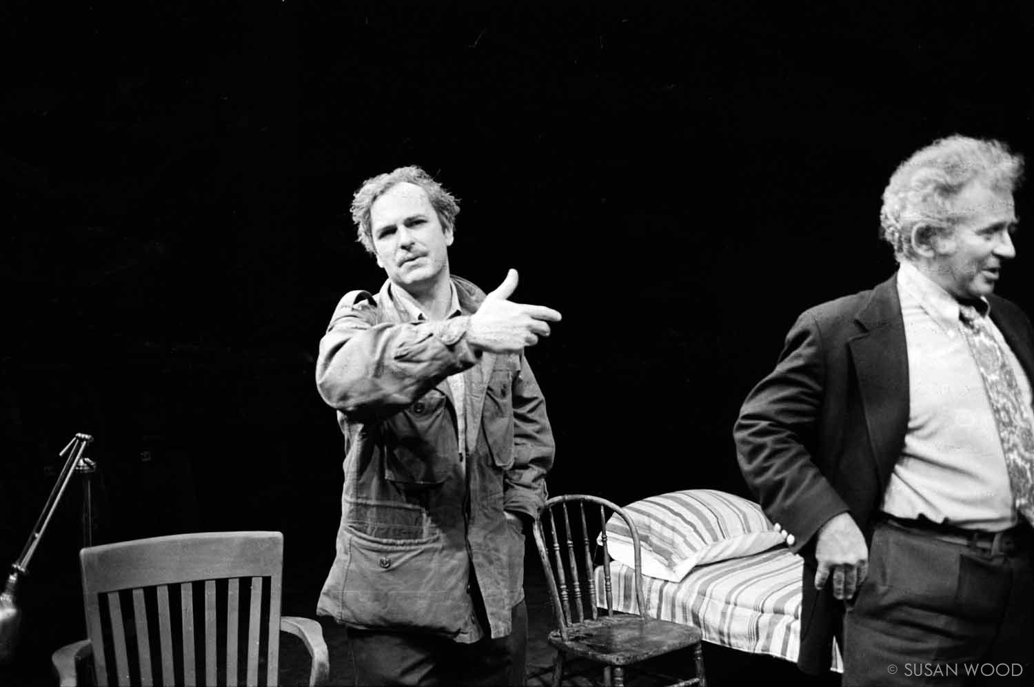 Rip Torn and Norman Mailer 1966