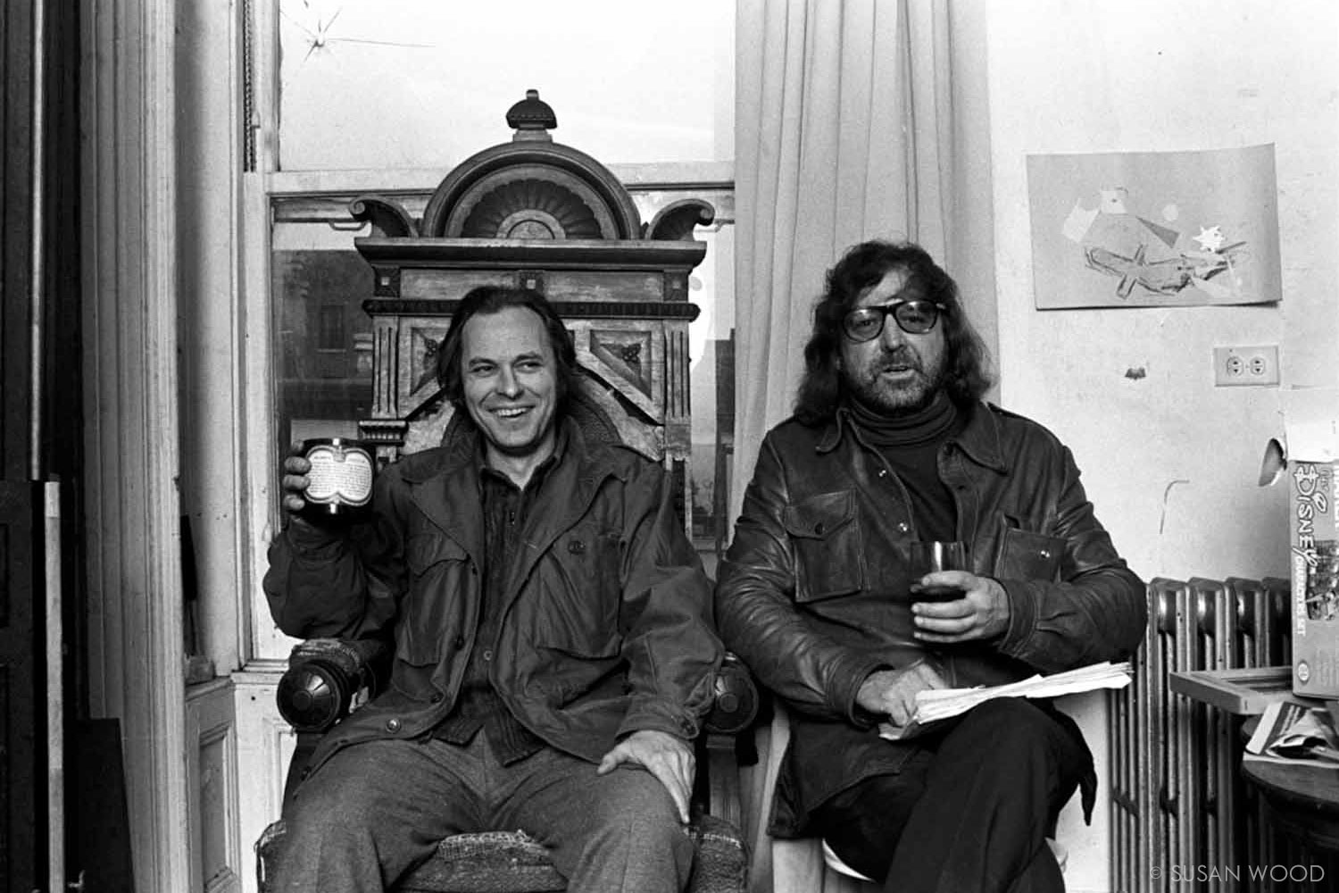 Rip Torn and Terry Southern 1973