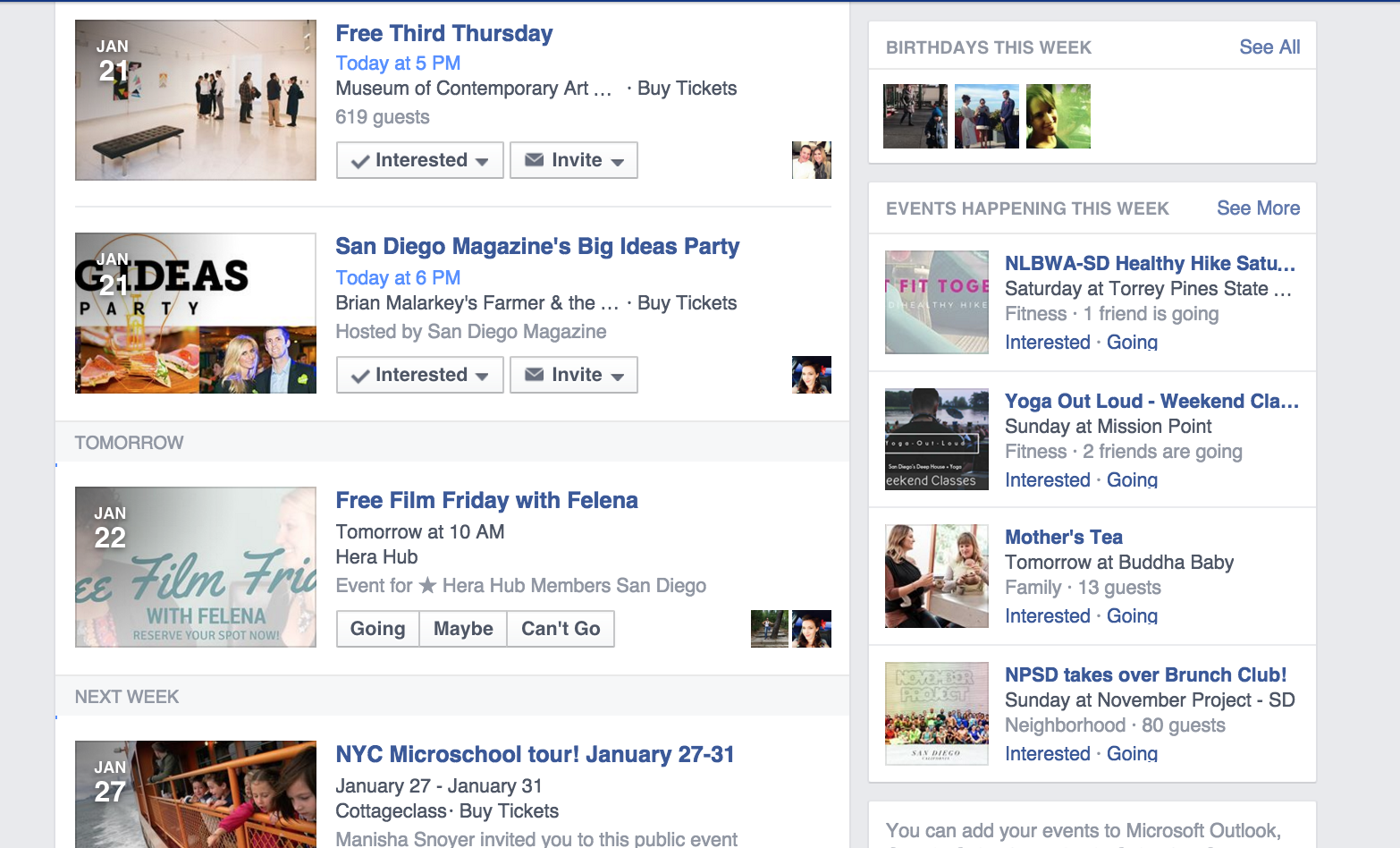 Harness the power of the Event page.