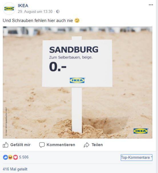FacebookPostIkeaSandburg.jpg