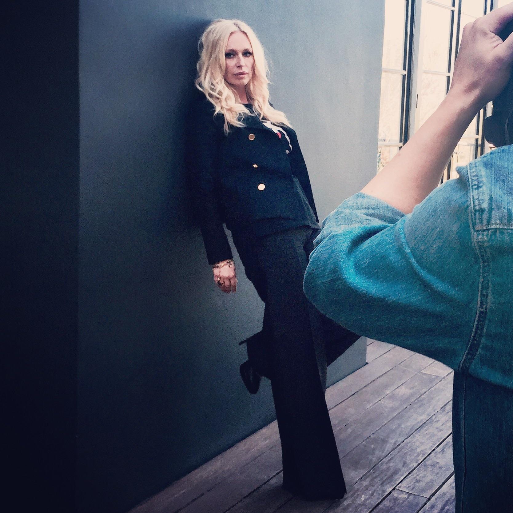 Photo shoot for ES magazine
