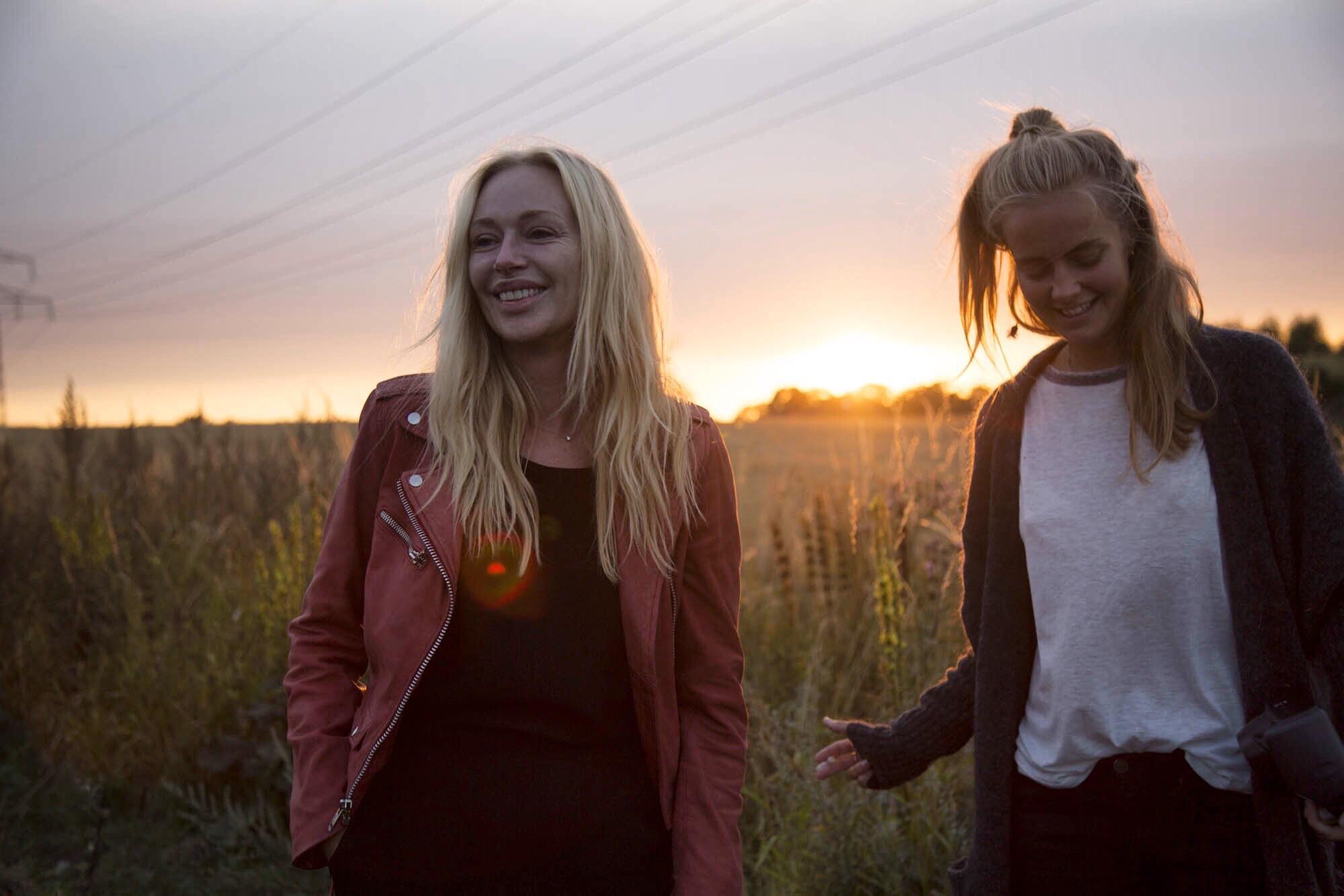 Isabel Adrian & Nathalie in Sweden summer 2015