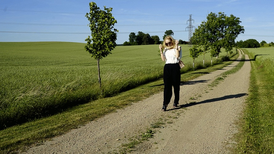 Summer in Sweden with an all Marni outfit