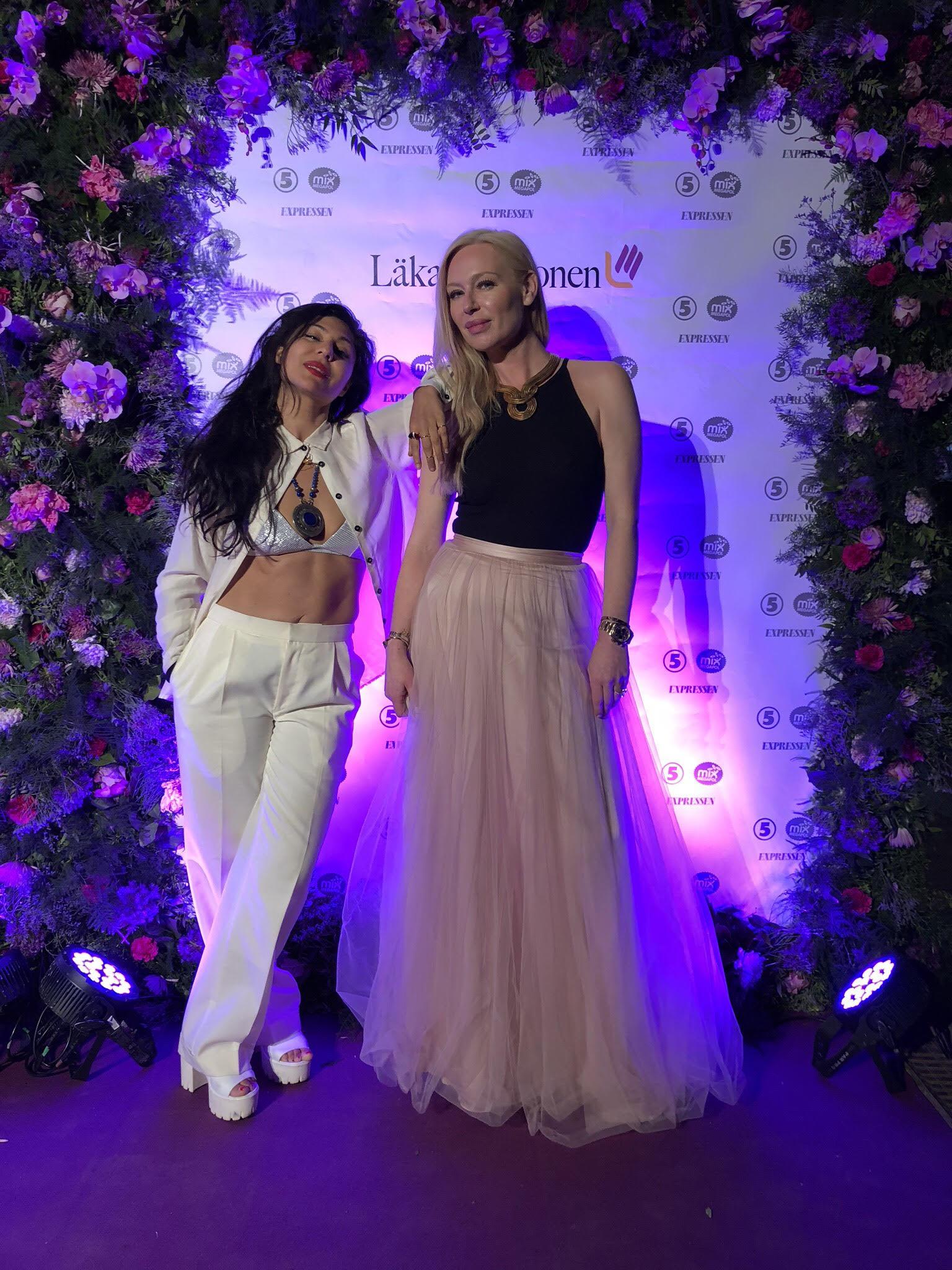 Mammagalan 2018 Bahar Pars Isabel adrain angello