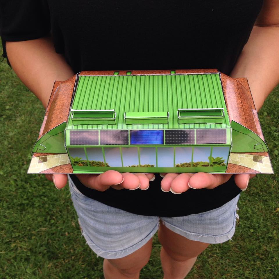 Earthship in the palm of your hands!