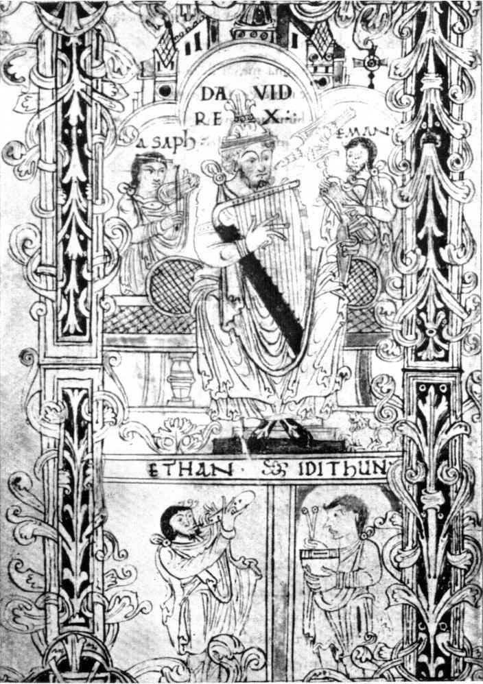 11th Century Psalter, Cambridge University Library MS Ff. 1.23