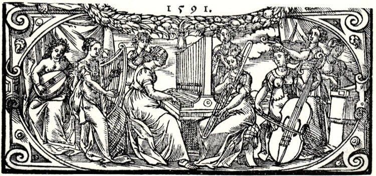 Adam Gumpelshaimer, Title page of Neue teutsche geistliche Lieder, 1591.