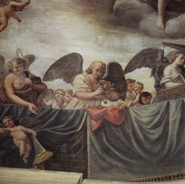 Mattia Preti; fresco in apse of San Biagio in Modena.