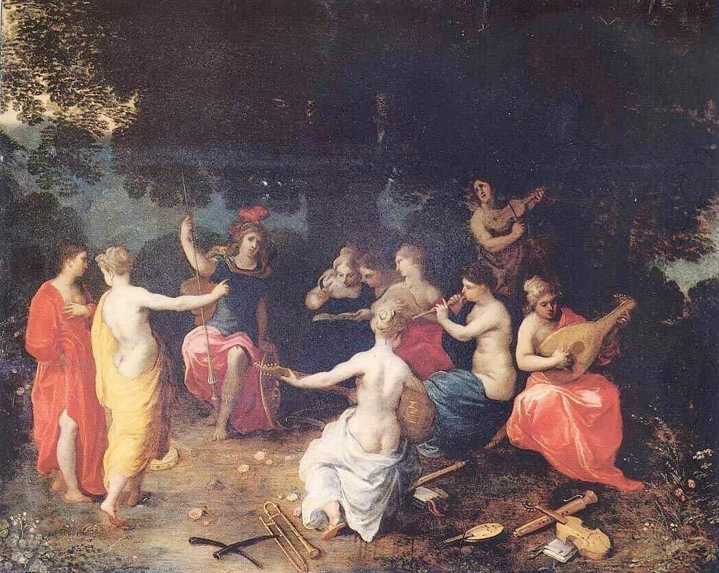 Hendrik van Balen (1575-1632) Apollo and the Muses