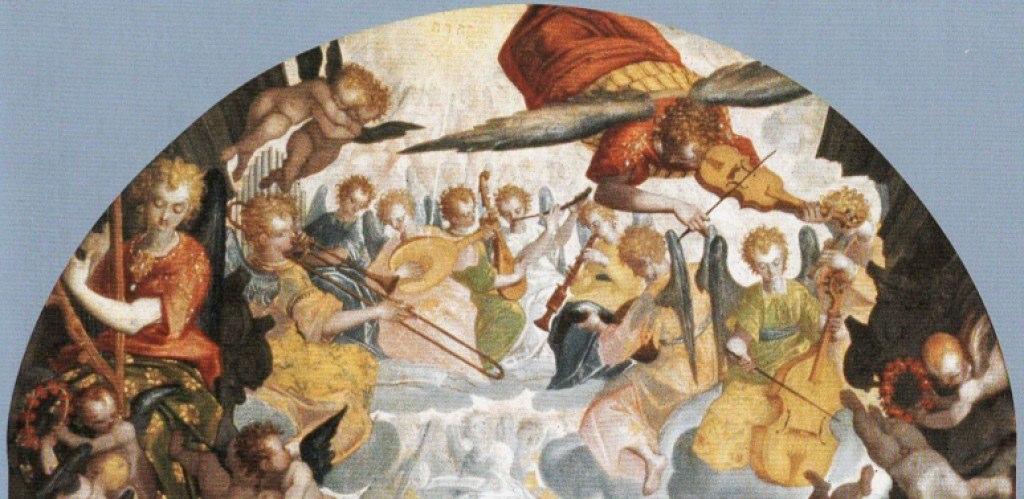 Altarpiece, Cosimo Piazza (1557 - ca 1621), detail