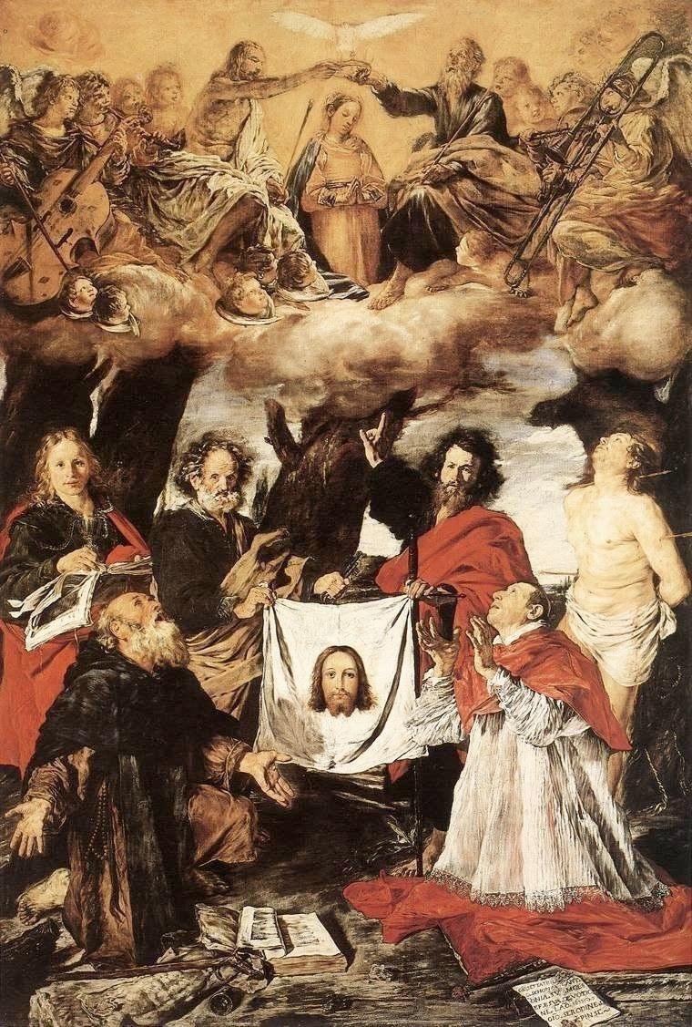 Ascona, Switzerland: Giovanni Serodine's Coronation of the Virgin with Saints in Ascona's parish church
