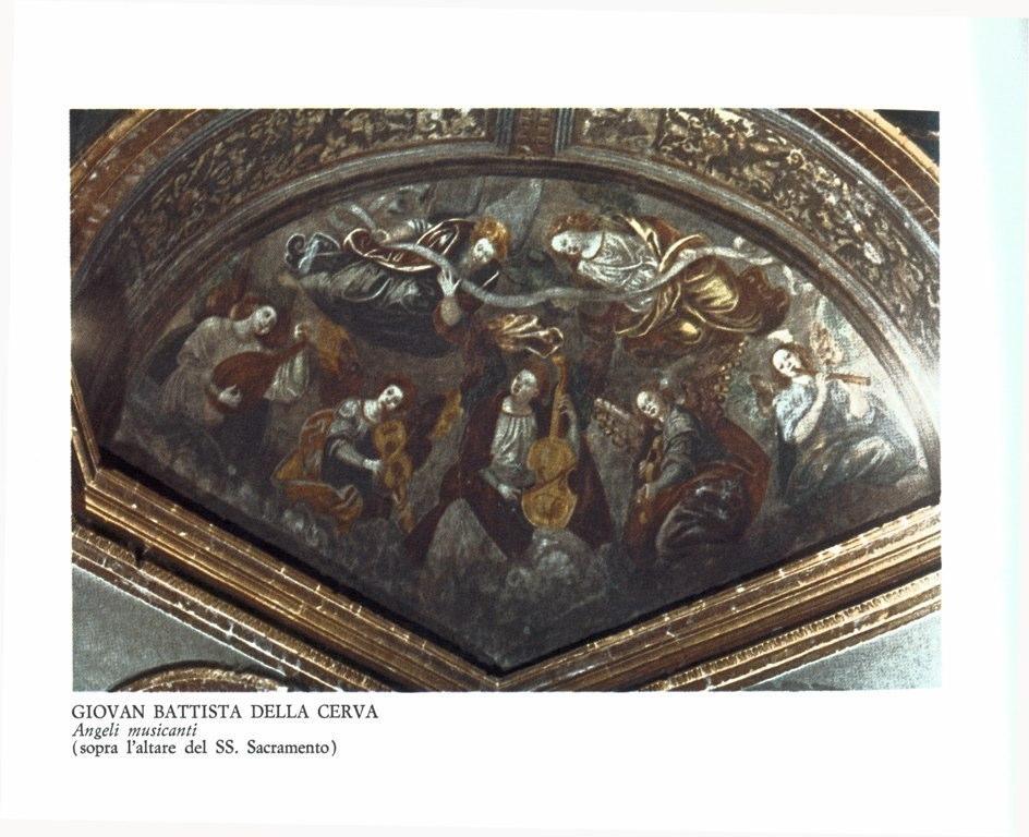 Angeli Musicanti-Giovan Battista della Cerva (1515 – 1580). Busto Arsizio