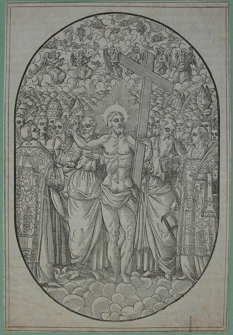 1600 Anoniem Jesus met engelenkoor Contributed by Marleen Leicher.