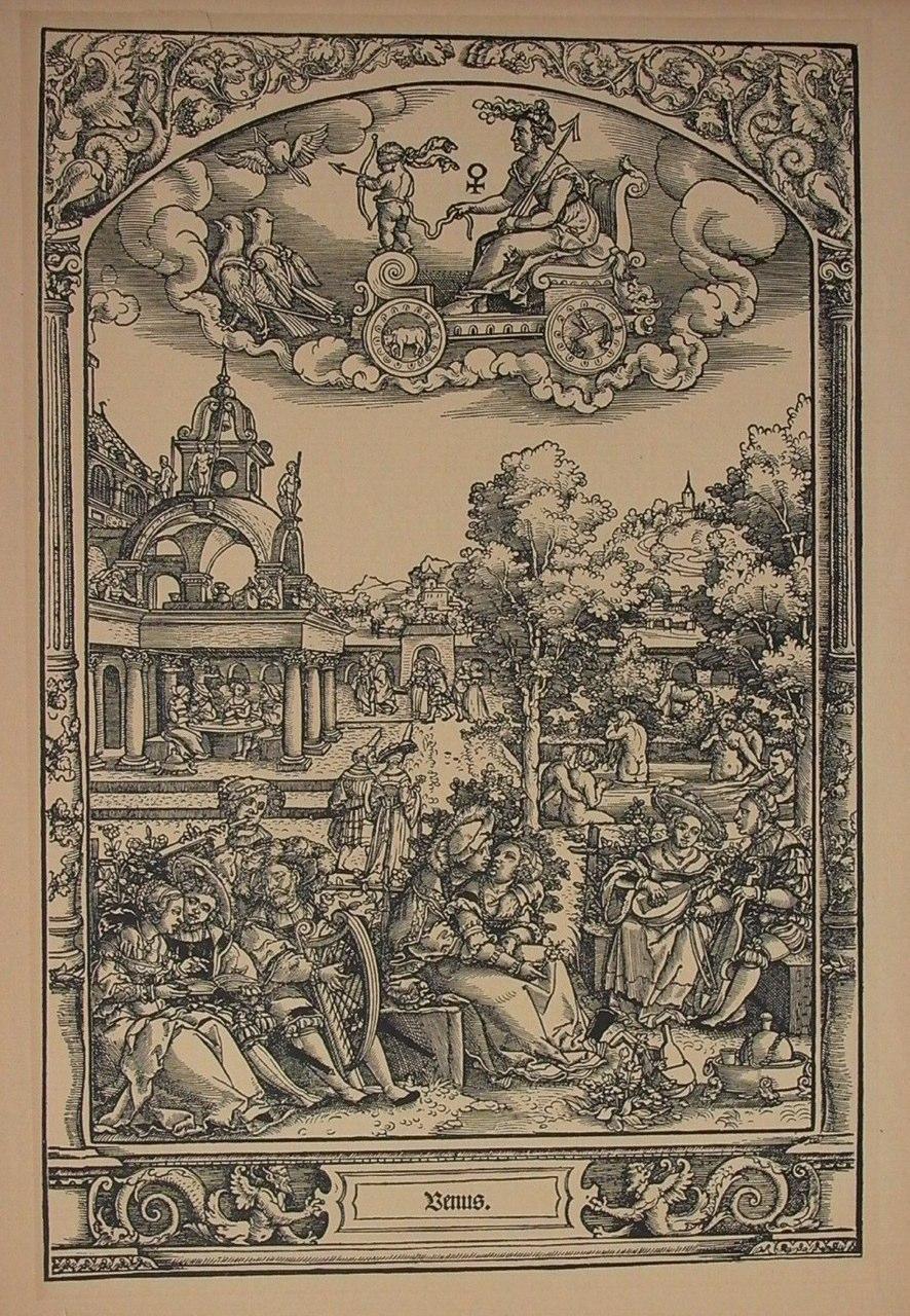 1509 Cranach Lucas, nadruk 19e eeuw