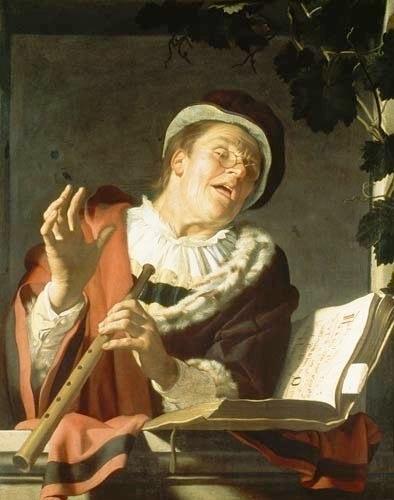Gerrit van Honthorst Der Flötenspieler - 1590 - 1656 Contributed by Lambert Colson