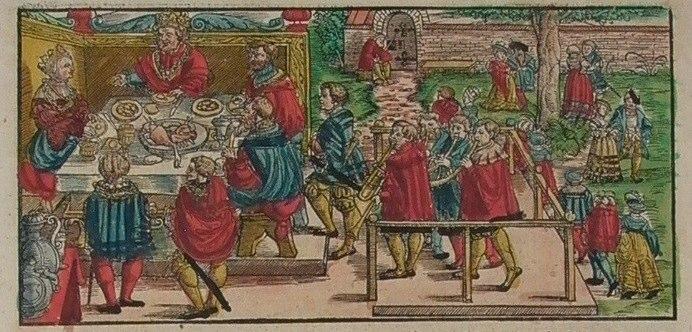 1547 Stumpf J. uit Schweitzerchronik, ingekleurd Contributed by Marleen Leicher.