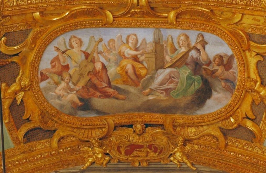 Fresco on vault of SS. Annuziata in Castelletto, Genova