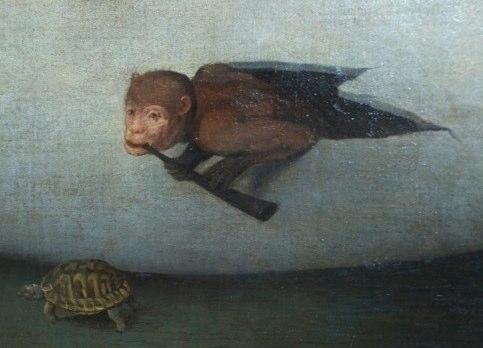 Hier. Bosch, detail from Concert dans un oeuf, Musée des Beaux-Arts de Lille