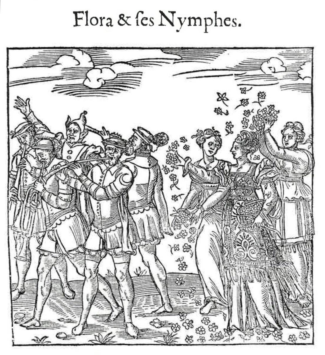 C'est la Deduction du Sompteuux Ordre Plaisant et Spectacles, 1551, Depicts celebrations for Henry II and Catherine de Medici. Contributed by Pietro Modesti