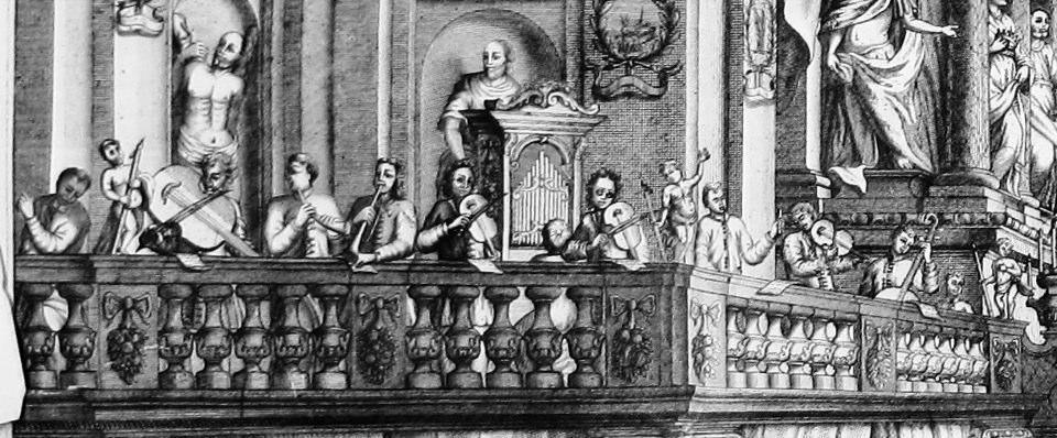 Dettaglio dell' Apparato per l'incoronazione della SS. Vergine ... esposto per la detta solenne funzione nella chiesa di S. Nicolò, 3 novembre 1709 (Verona)
