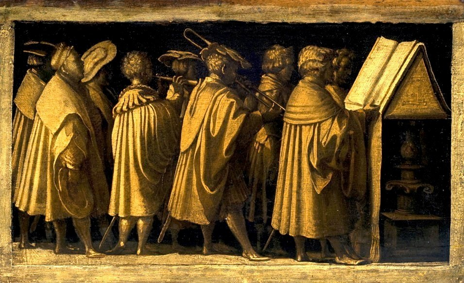 Concert of Sacred Music, Hans Burgkmair, Augsburg, c. 1530.